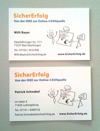 Unsere Neuen Visitenkarten Bayer Fly Higher